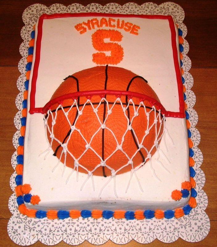 Basketball Cookie Cake