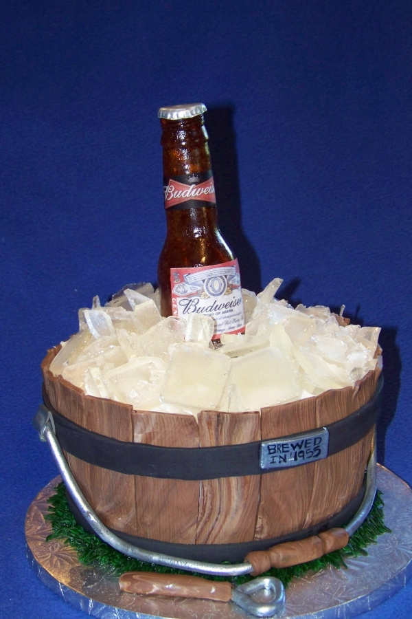Pictures of Beer Bottle Cake