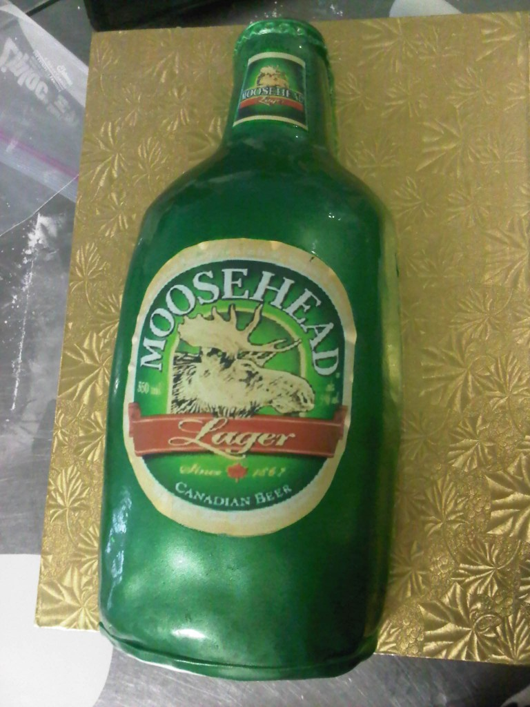 Beer Bottle Cakes Photos