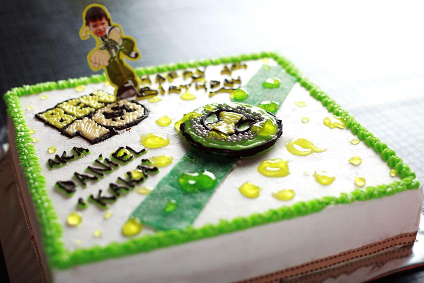 Ben 10 Cake Designs