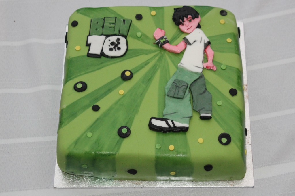 Ben 10 Cake Ideas