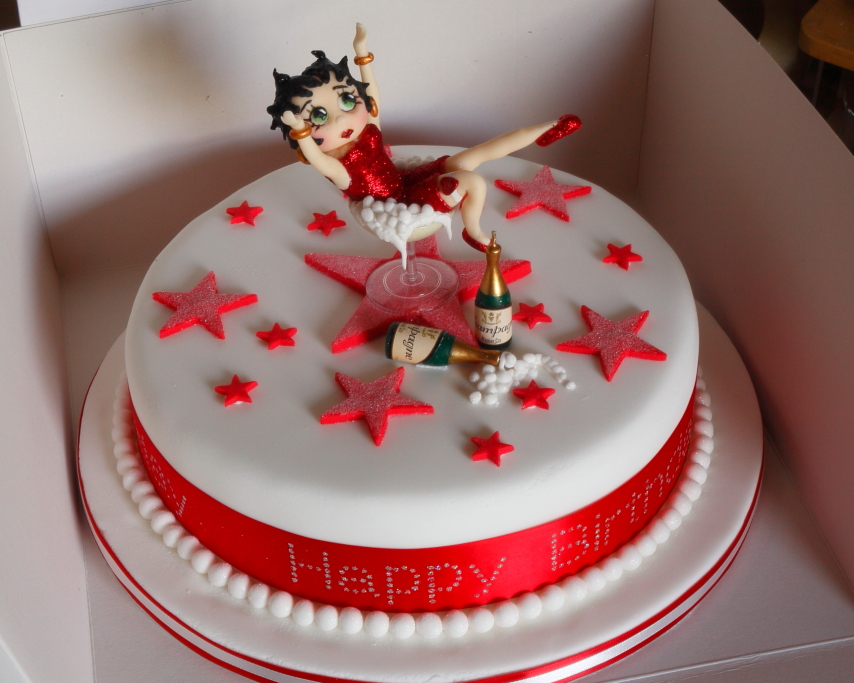 Betty Boop Cake Pictures