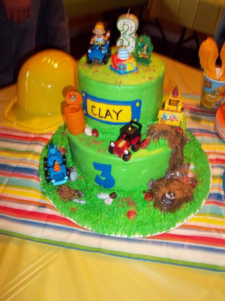 Bob The Builder Cake Decorations