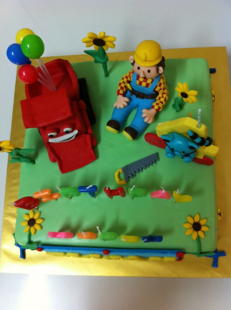 Bob The Builder Cake Photos