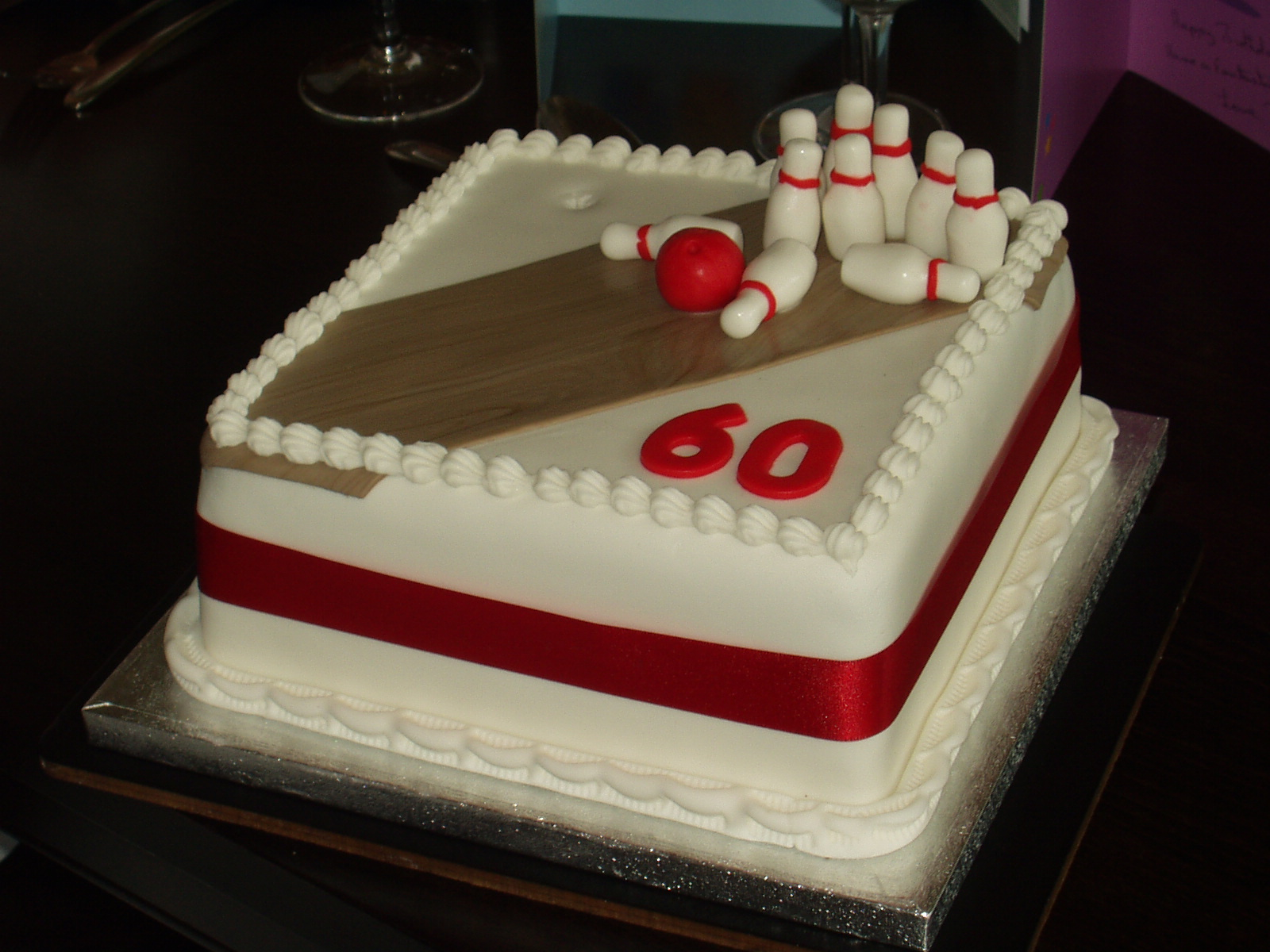 Fantastic Bowling Cakes Decoration Ideas Little Birthday Cakes Personalised Birthday Cards Veneteletsinfo