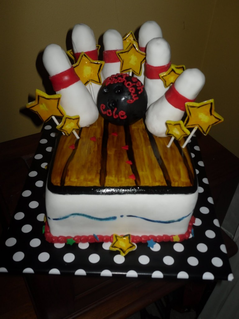 Bowling Cakes Pictures