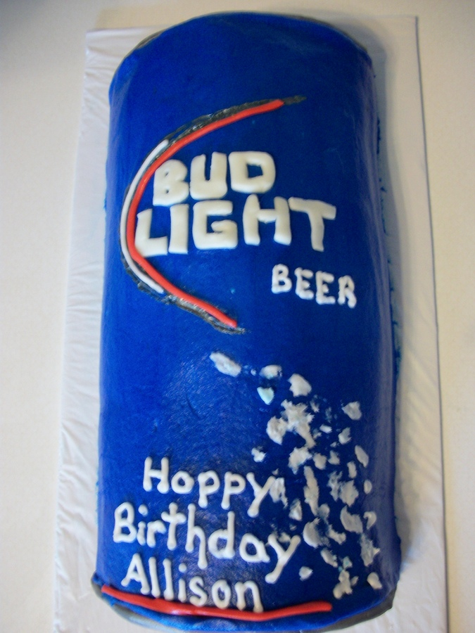 Bud Light Birthday Cakes Pictures