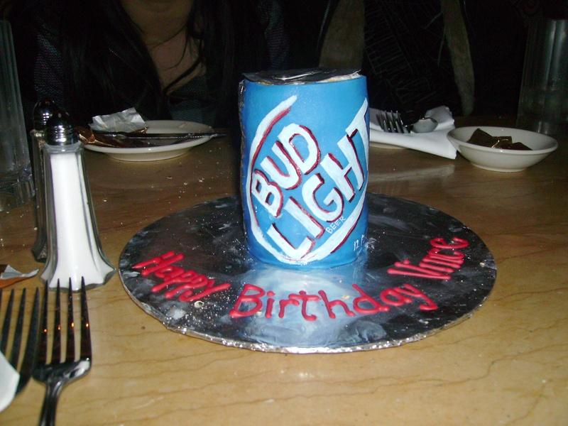 Bud Light Birthday Cakes