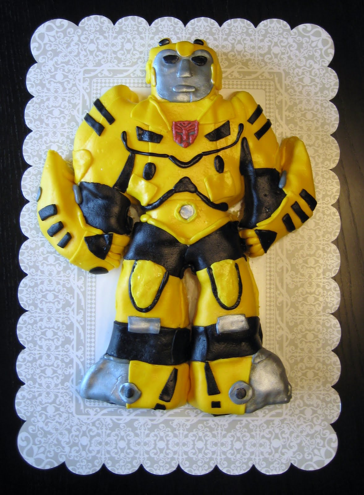 Enjoyable Transformer Cakes Decoration Ideas Little Birthday Cakes Personalised Birthday Cards Paralily Jamesorg
