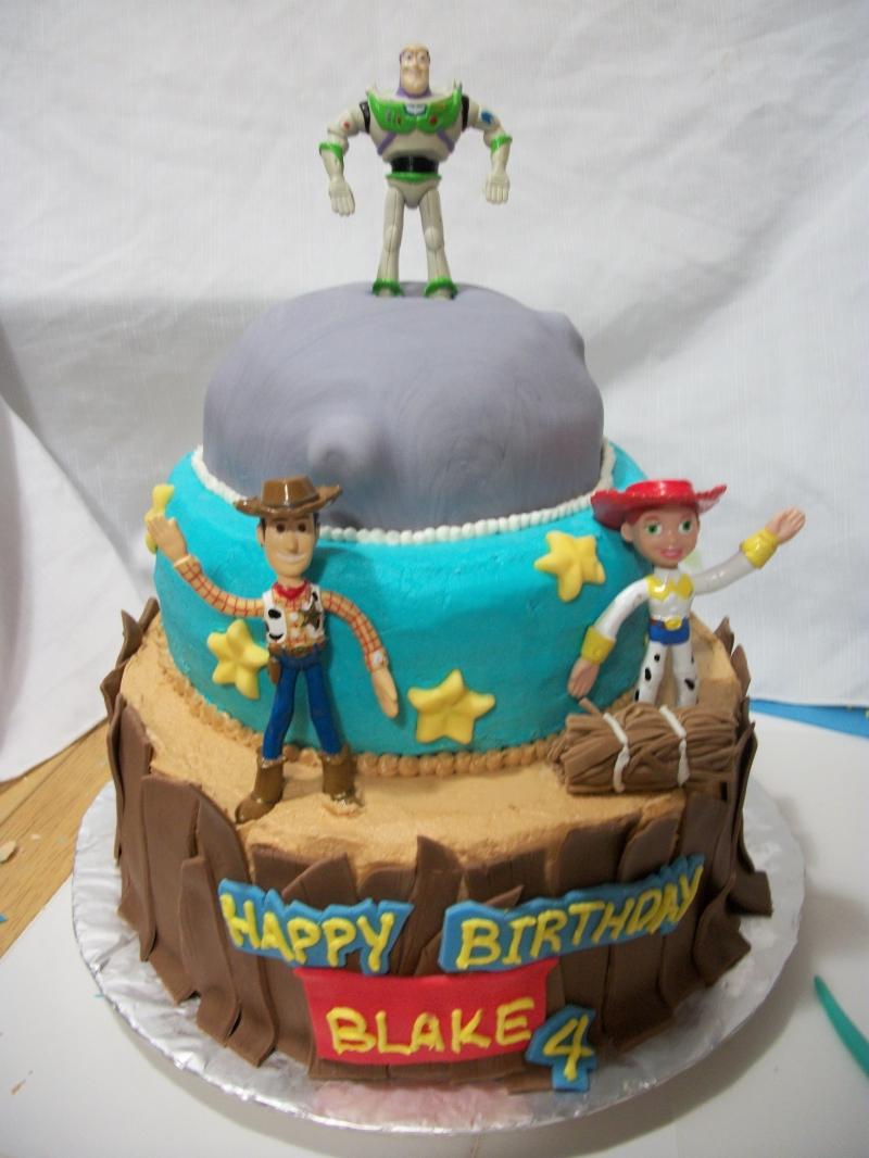 Admirable Buzz Lightyear Cakes Decoration Ideas Little Birthday Cakes Funny Birthday Cards Online Inifodamsfinfo