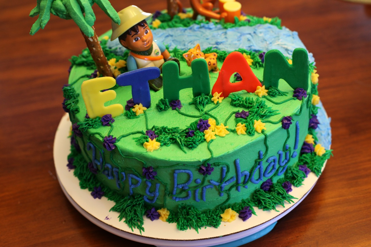 Tremendous Diego Cakes Decoration Ideas Little Birthday Cakes Personalised Birthday Cards Veneteletsinfo