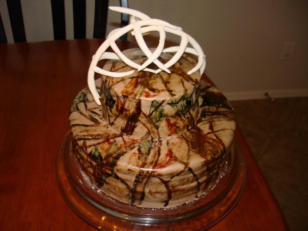 Camo Cake Designs
