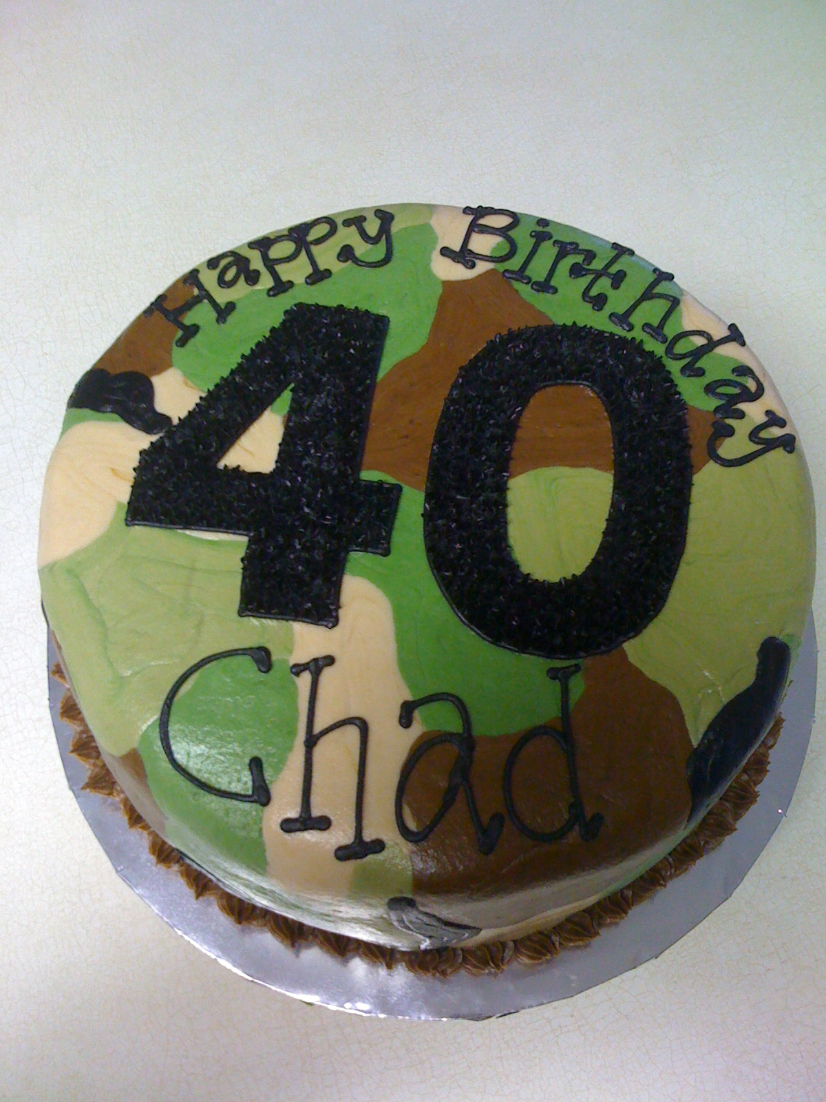 Marvelous Camo Cakes Decoration Ideas Little Birthday Cakes Funny Birthday Cards Online Aeocydamsfinfo
