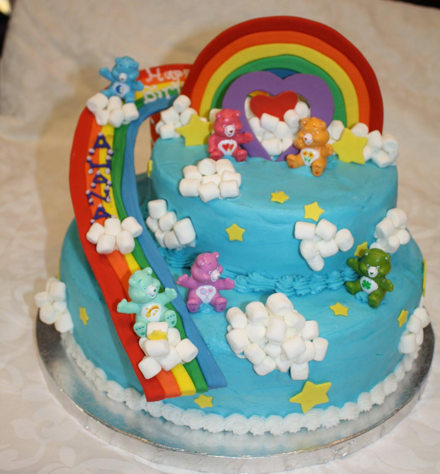 Care Bear Cakes – Decoration Ideas | Little Birthday Cakes