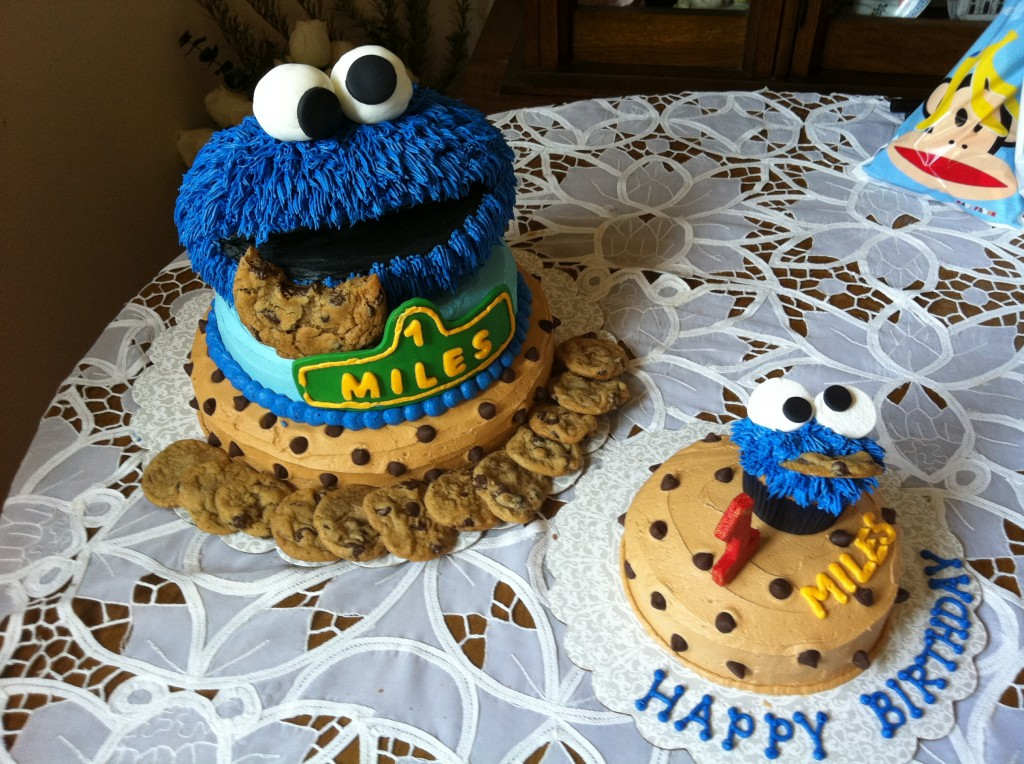 Cookie Monster Cake Images
