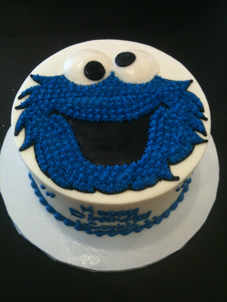 Cookie Monster Cake Pictures