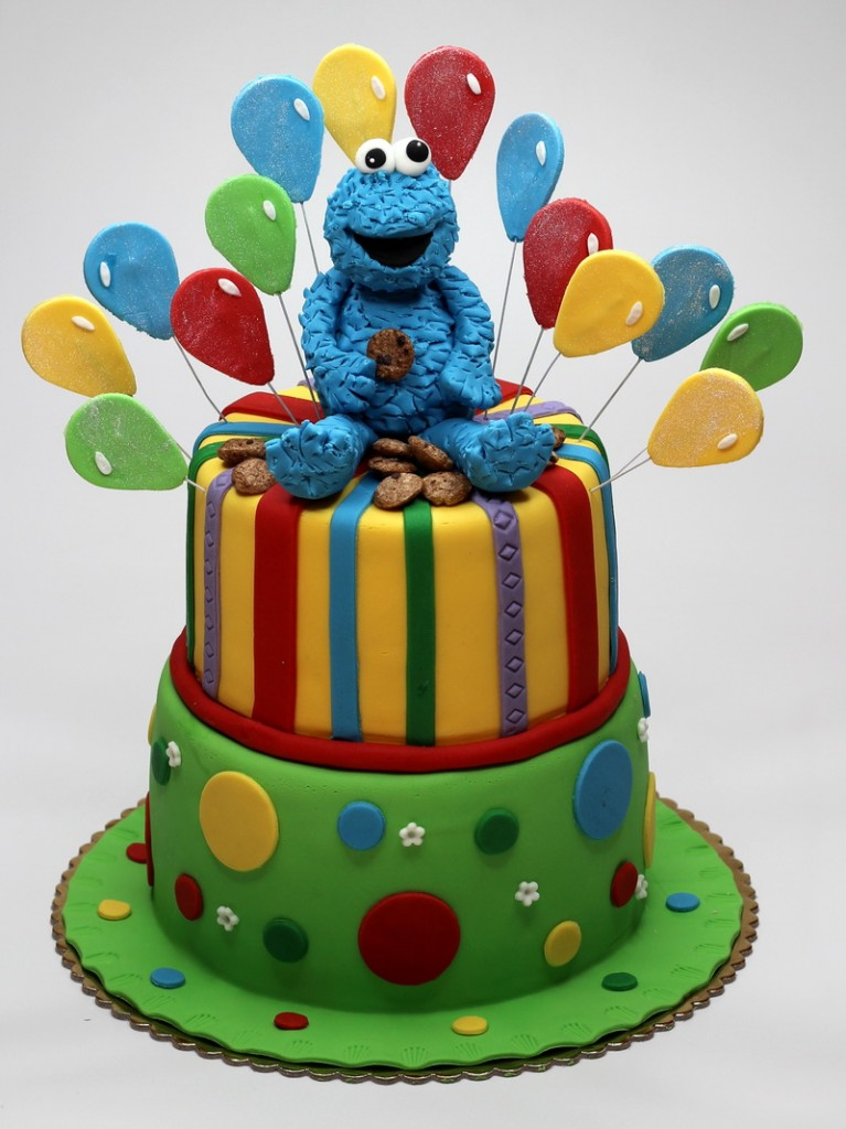 Cookie Monster Cakes  Images