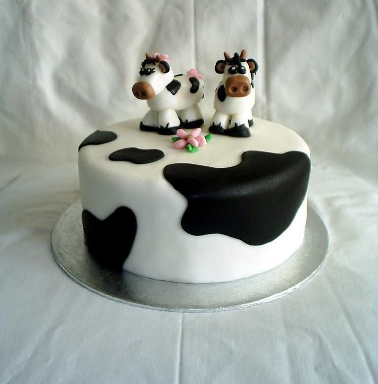 Cow Cake Pictures