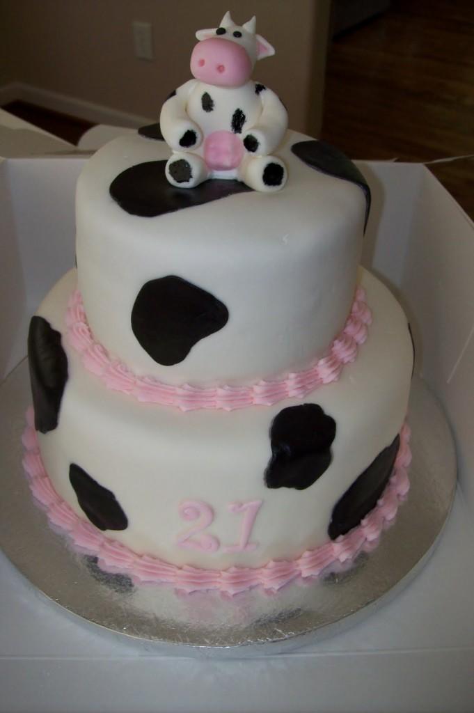 Cow Cakes Photos
