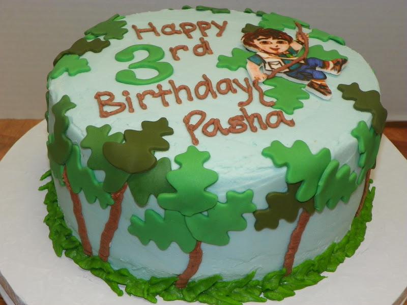 Diego Birthday Cakes