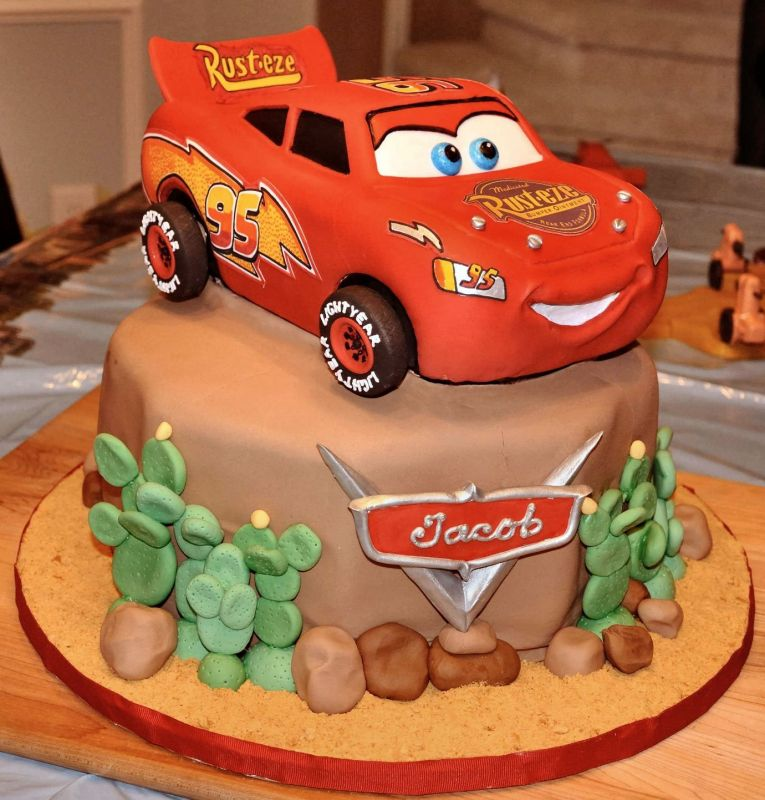 Disney Cars Brthday Cakes