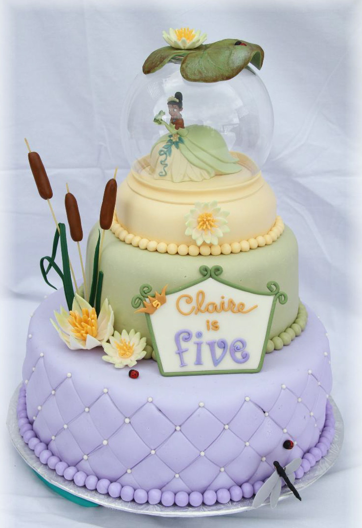 Fine Princess Tiana Cakes Decoration Ideas Little Birthday Cakes Funny Birthday Cards Online Aeocydamsfinfo