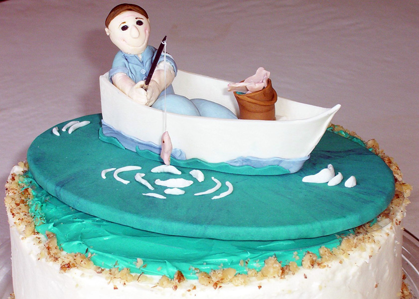 Fishing Cake Images