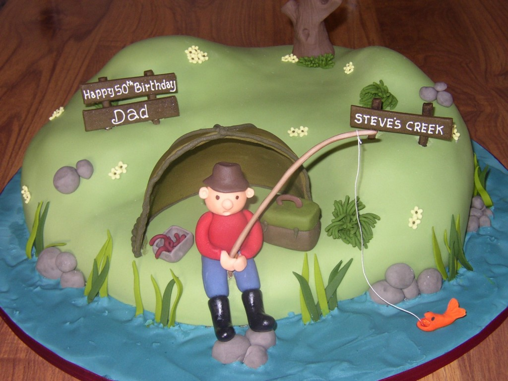 Fishing Cake Pictures