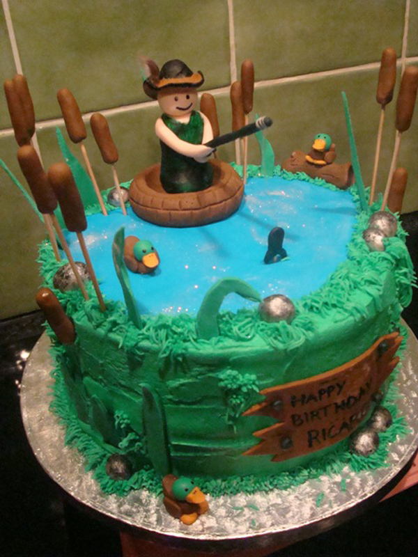 Fishing Cakes Photos