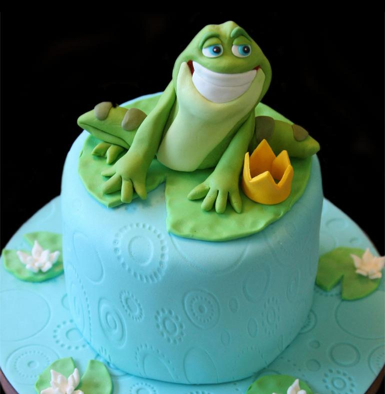 Frog Baby Shower Cakes