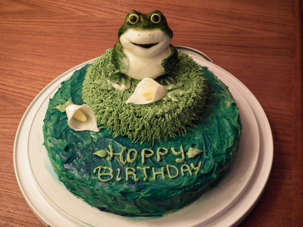 Frog Cakes Images
