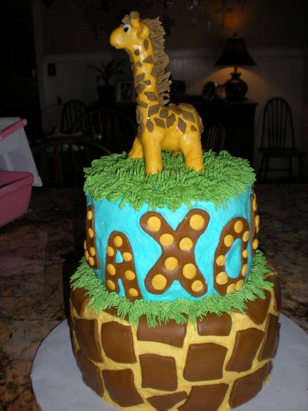 Giraffe Cakes Photos