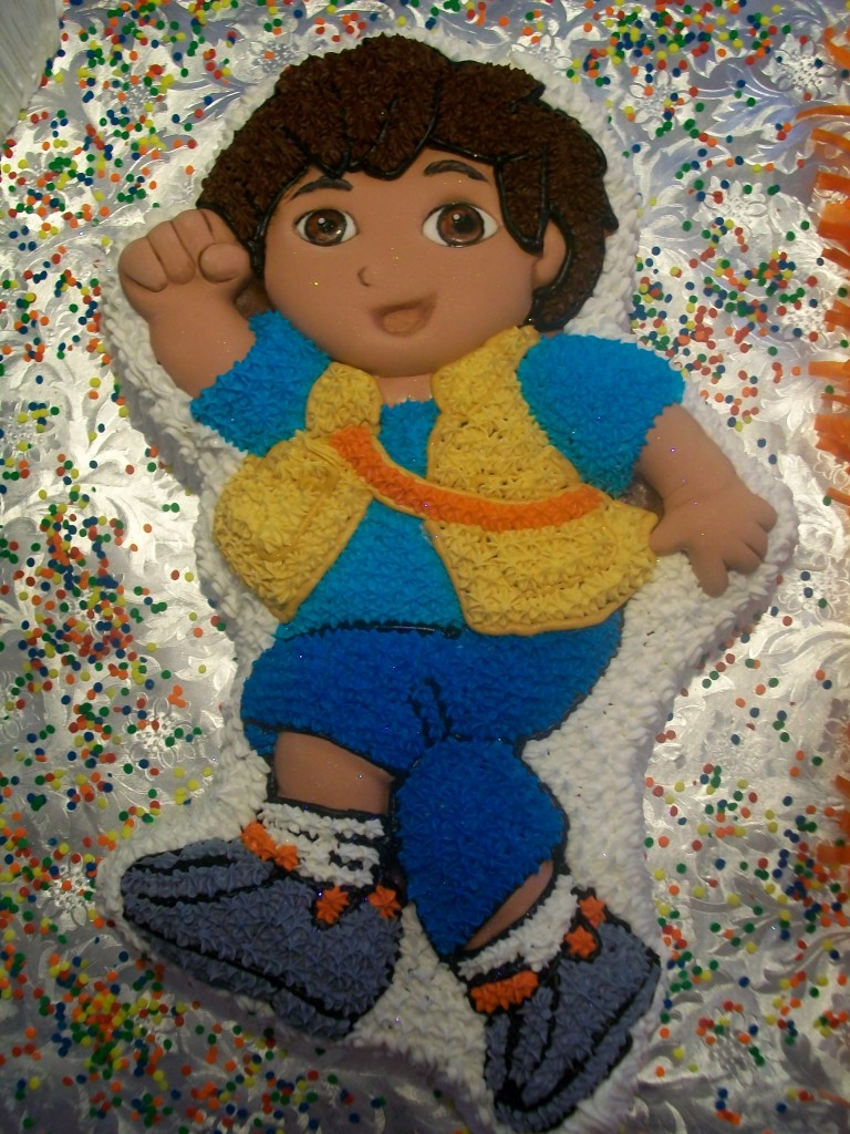 Go Diego Go Cake