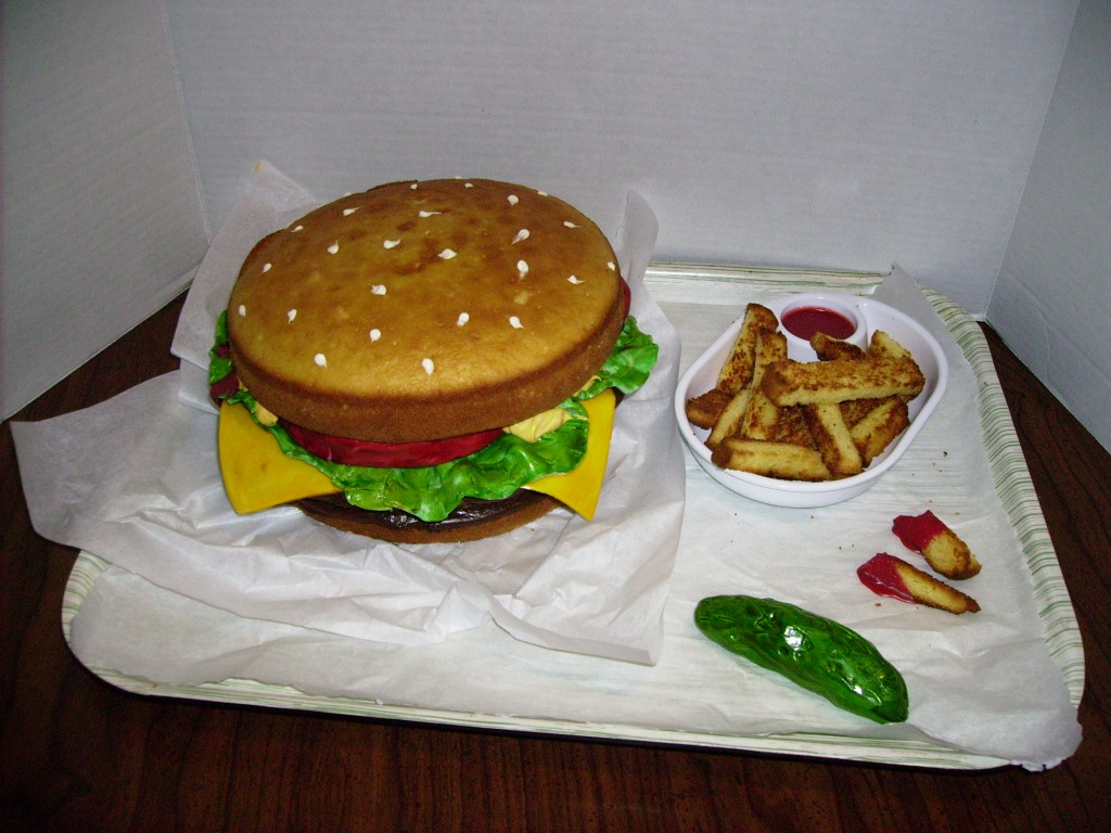 Hamburger Cakes Images
