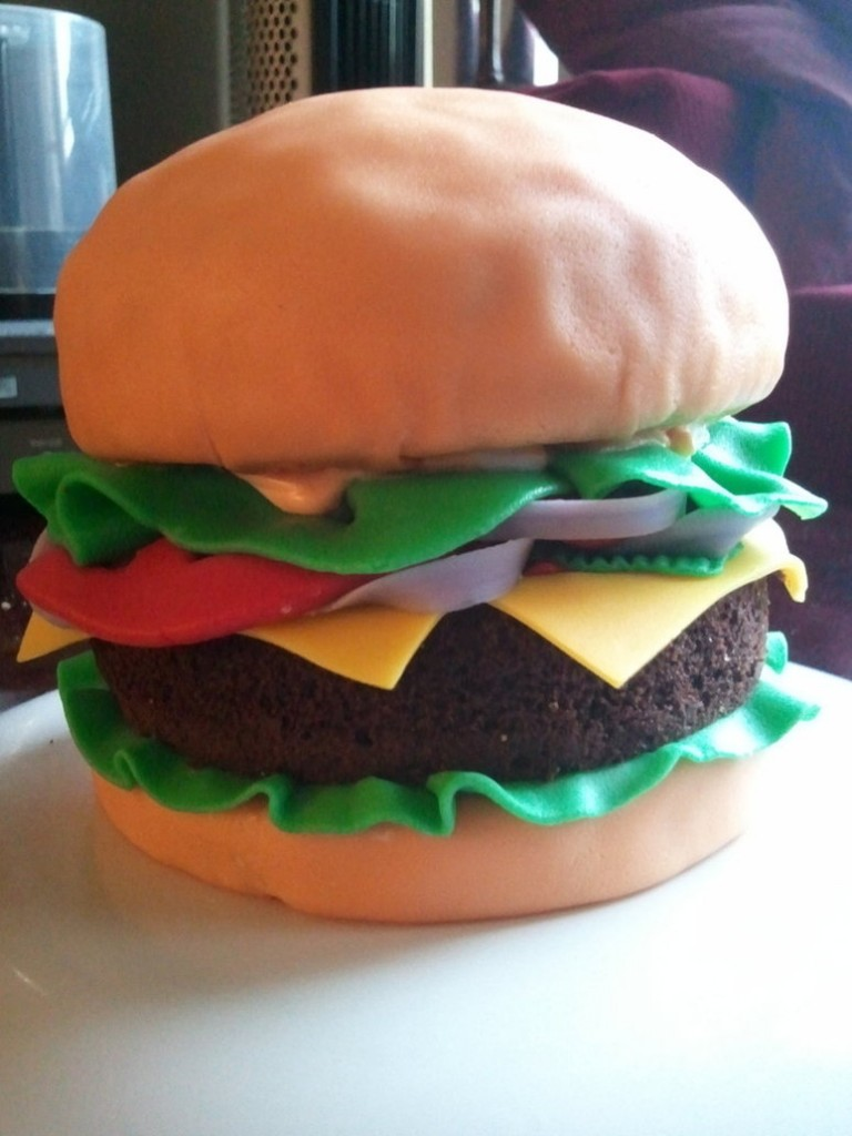 Hamburger Cakes Pictures