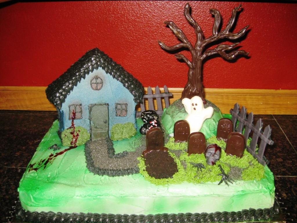 Haunted House Birthday Cakes