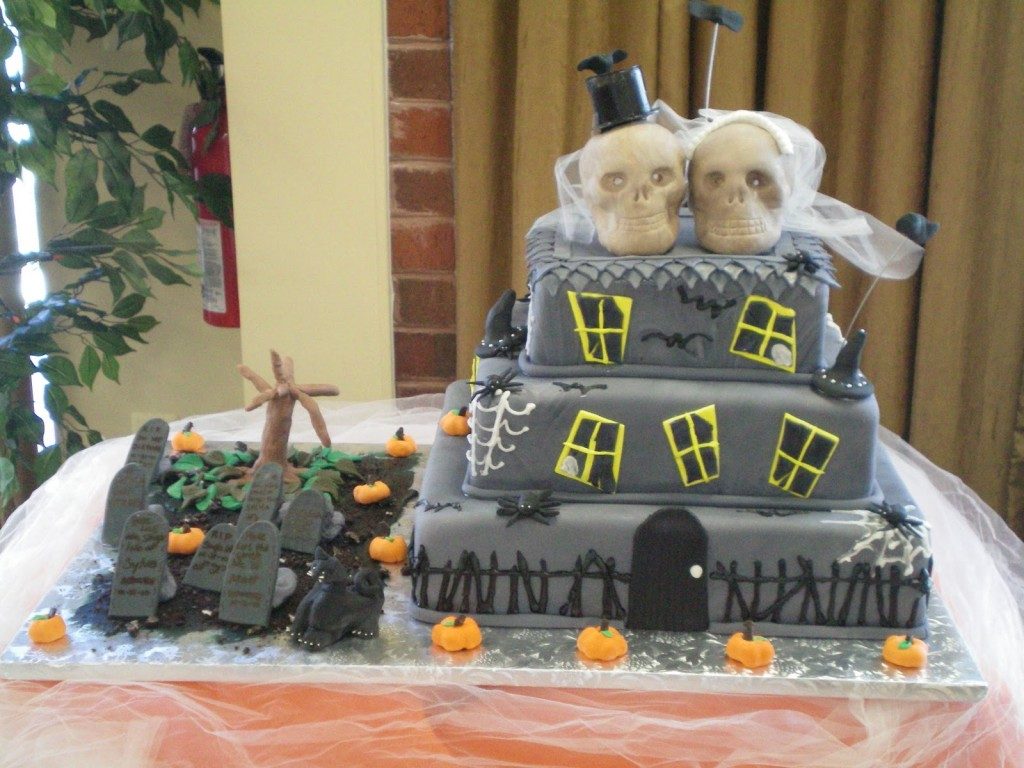 Haunted House Cake For Kids