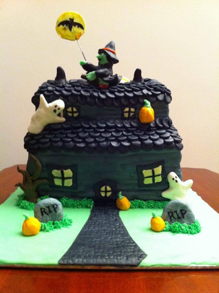 Haunted House Cake Ideas