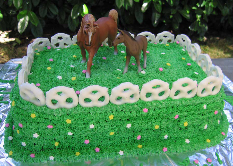 Horse Birthday Cake Ideas Picture