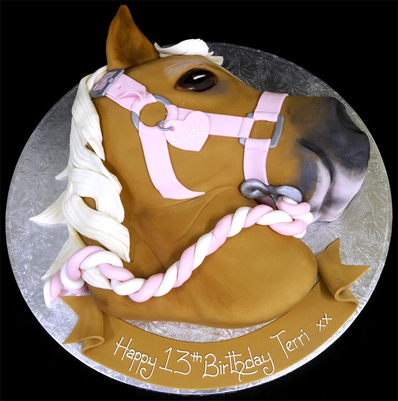 Horse Birthday Cakes Photo