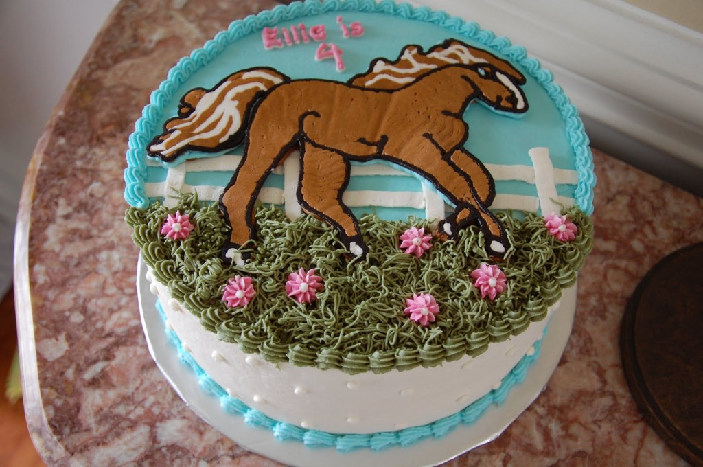 Horse Cake Designs Images