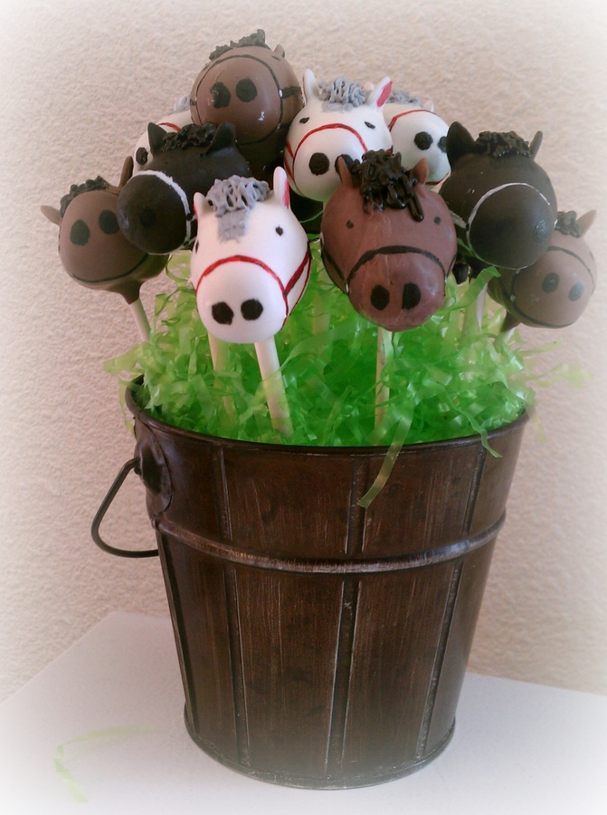 Image of Horse Cake Pops