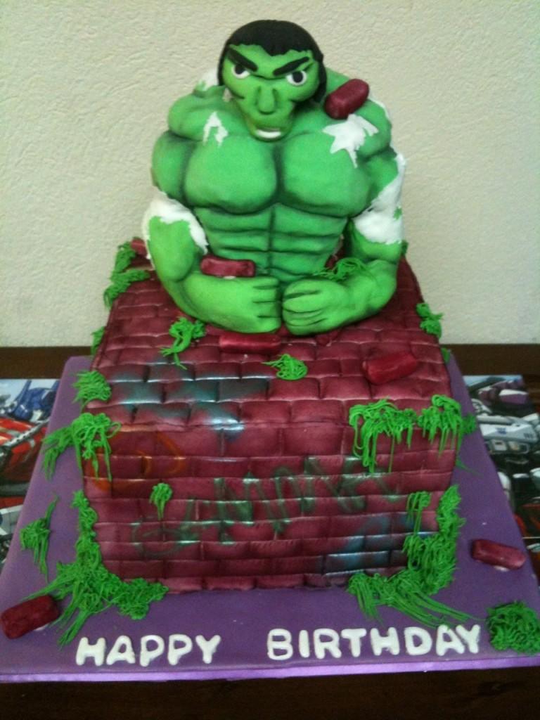 Hulk Cake Ideas
