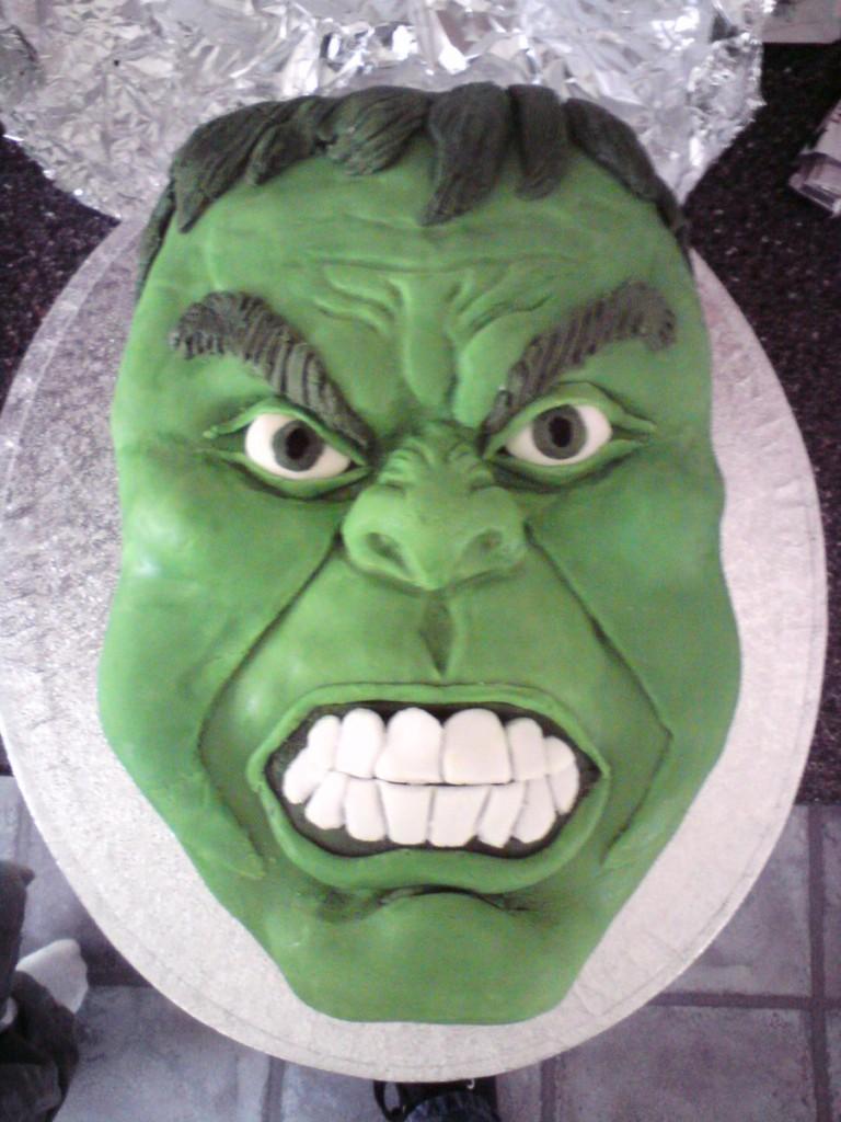 Hulk Cake Pan