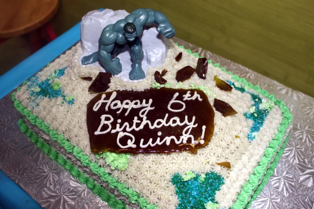 Hulk Cake Pictures