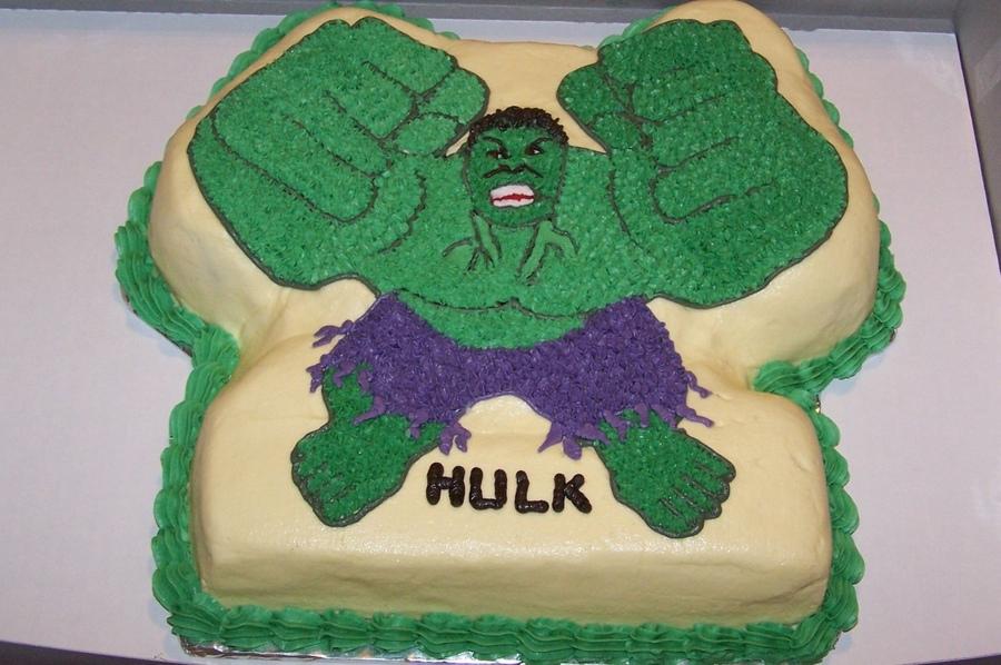 Hulk Cakes Photos