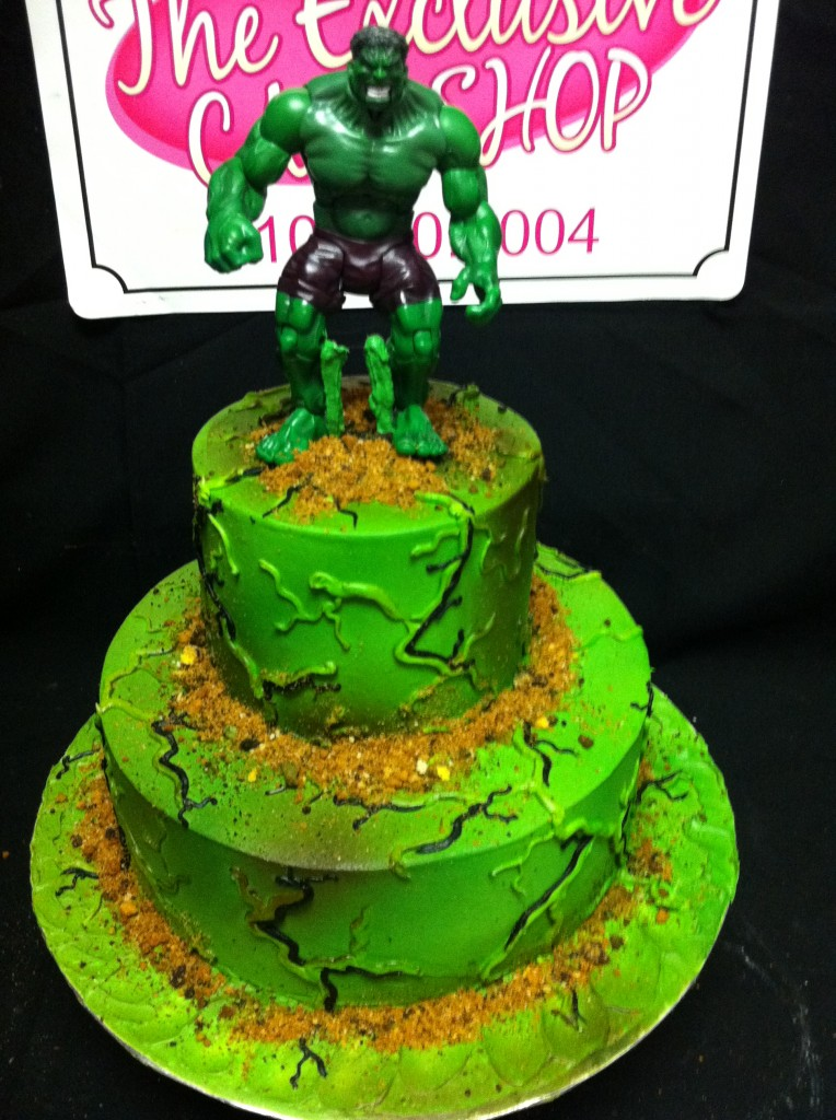 Hulk Cakes Pictures