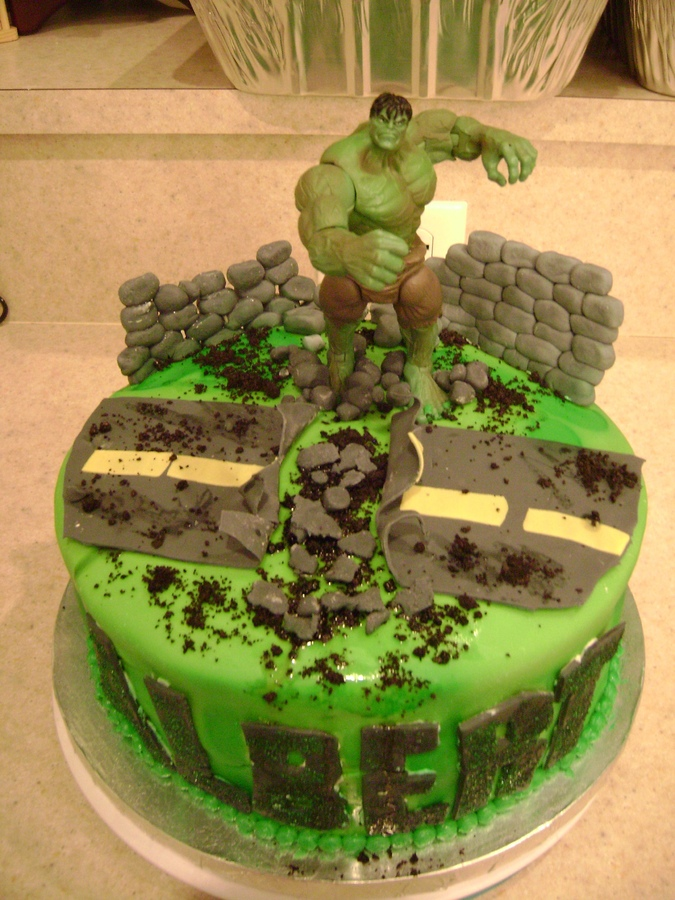 Images of Hulk Cakes