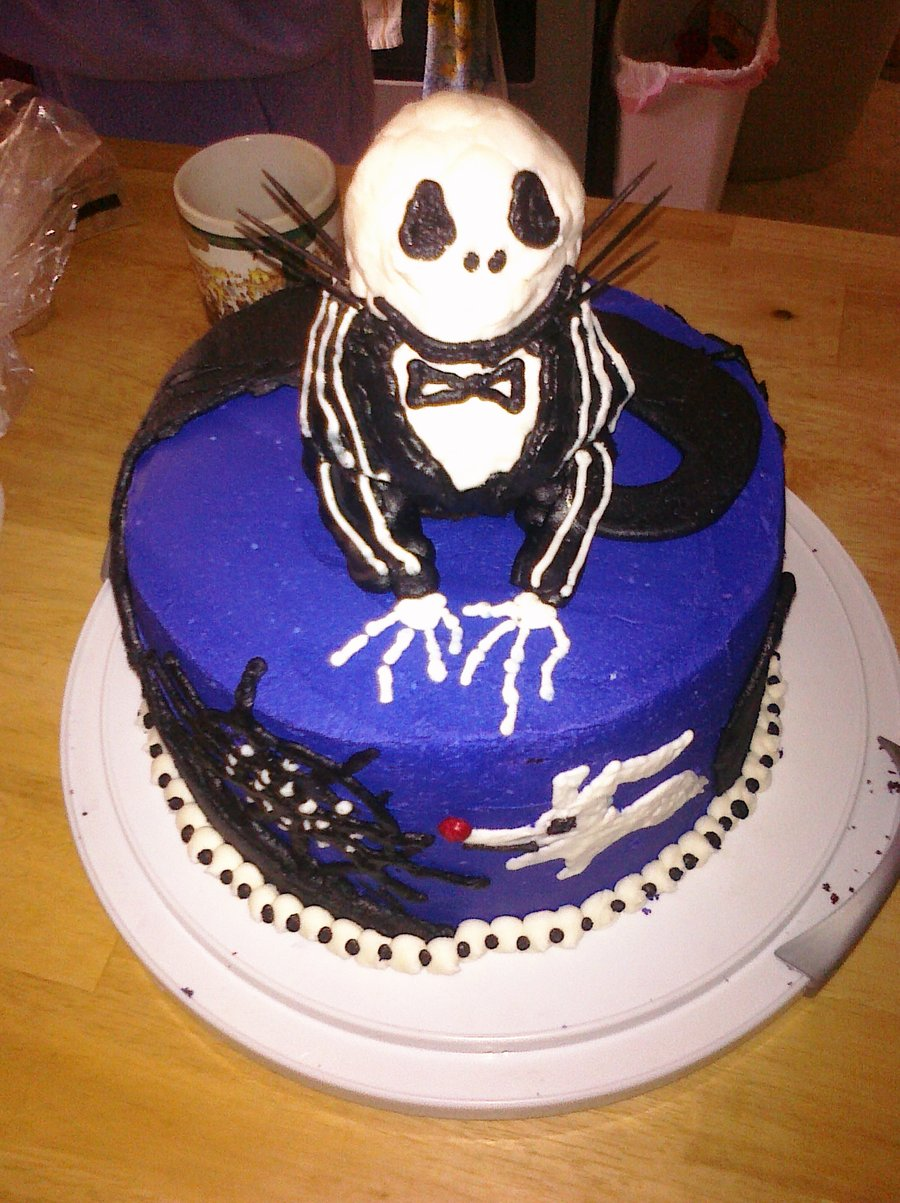 Jack Skellington Cakes Decoration Ideas Little