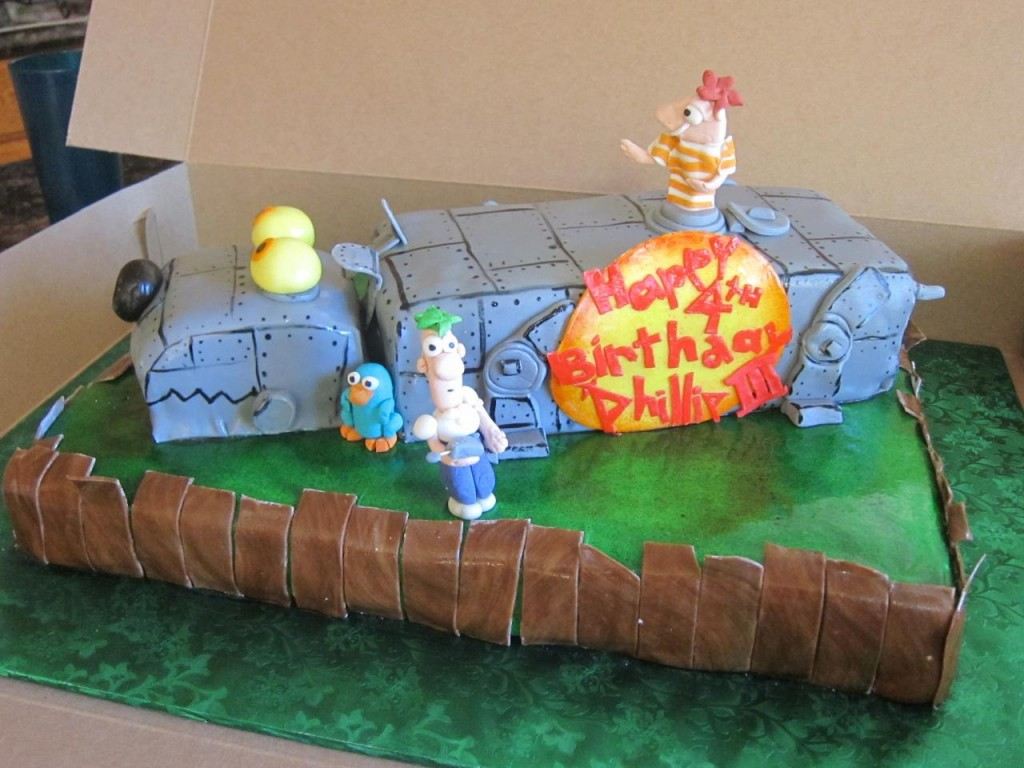 Phineas and Ferb Cake Images